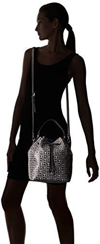 243fce960ea Tommy Hilfiger Backpack for Women Mara Logo, Black/White: Handbags:  Amazon.com