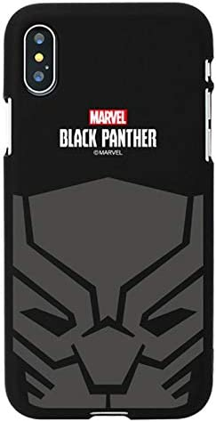 Hero Emblem Color Jelly Case with Avengers Character for Apple iPhone 6 Plus/iPhone 6s Plus (Black Panther)