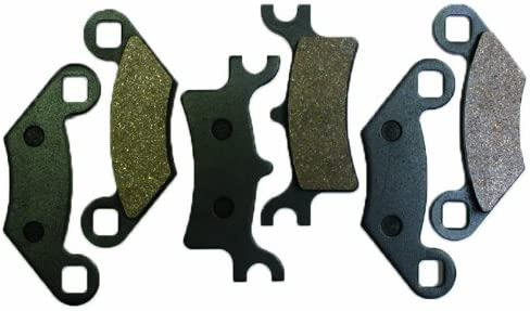 Caltric Front Rear Brake Pads Fits POLARIS MAGNUM 330 2x4 4x4 HDS 2003 2004 2005 2006 Front Rear Brakes