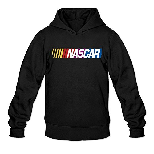 Niceda Men's NASCAR Logo Long Sleeve Sweatshirts (Second Best Hoodie Sweatshirt)