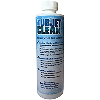 Jetted Tub Cleaner   Easy, Safe, Concentrated Self Cleaning Bath Tub Jet  And Plumbing