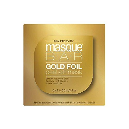 Masque Bar Gold Foil Peel Off Mask – Pod – 0.51 Fluid Ounce