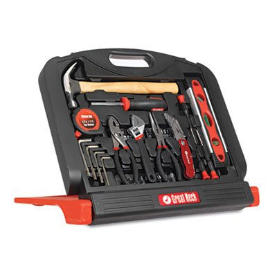 Great Neck GN48 48-Tool Set in Blow-Molded Case, Black