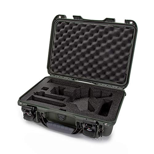 Nanuk 923 Ronin S Waterproof Hard Case with Custom Foam Insert for DJI Ronin-S Gimbal Stabilizer System - Olive