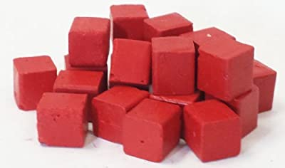 Harbor Sales HWB07b Beeswax for Candlemaking, Crafts and Encaustic Painting, Red