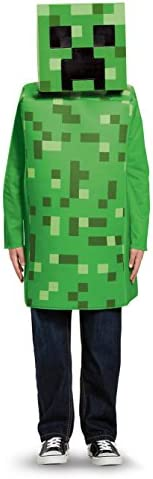 Creeper Prestige Minecraft Mojang Video Game Fancy Dress Halloween Child Costume