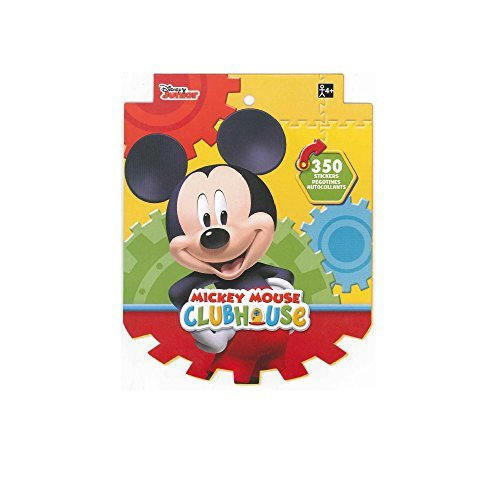 Disney Mickey Mouse Sticker Book for Kids (over 350 stickers)-1 PACK -
