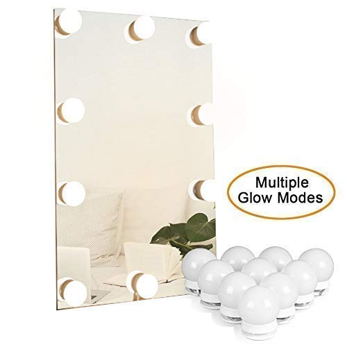 Waneway Hollywood Mirror Light Kit with Multiple Color Tones for Makeup Dressing -