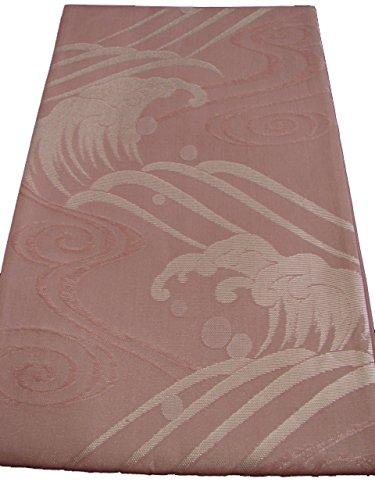歪めるグレートオーク形式博多着物市場 きものしらゆり 夏帯 訪問着 無地用 小豆色 紗 袋帯 六通柄 正絹 仕立上り