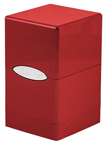 (Ultra Pro Deck Box Satin Tower: Metallic Fire)