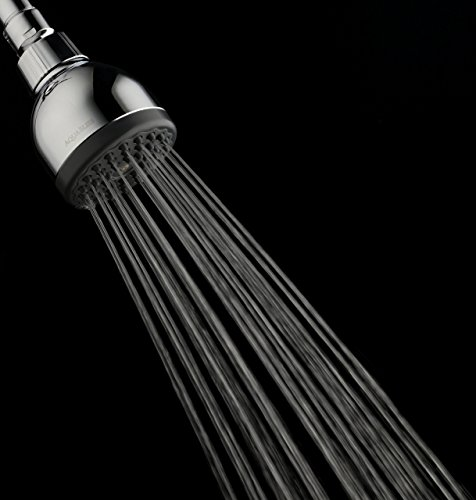 TurboSpa 3 Inch High Pressure Shower Head w/Flow Restrictor Melts Stress into Bliss at Full Power. 42 Nozzle Wide Spray High Flow Showerhead Drenches You Fast, No Dry Spots Guaranteed - Chrome by AquaBliss (Image #5)