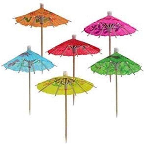 Paper Cocktail Parasol Drink Umbrellas 144Pcs
