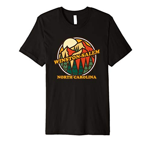 Vintage Winston-Salem North Carolina Mountain Hiking Premium T-Shirt (Salem Winston Christmas Home Children's)