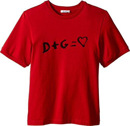 Dolce & Gabbana Kids Baby Boy's T-Shirt (Toddler/Little Kids) Red 2T (Toddler) by Dolce & Gabbana