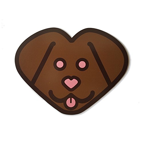 (Labheart Car/Refrigerator Magnet - Chocolate)
