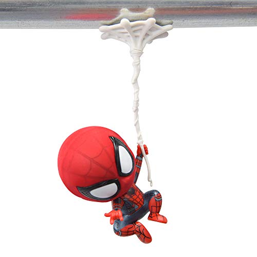 Spider-Man Toys Figure, Magnet Base, Car Hanging, Bobbleheads (Single arm/6inch) (Head Single Bobble)