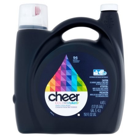 Cheer HE Liquid Laundry Detergent, 96 Loads 150 oz