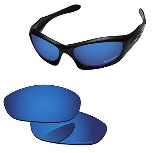 PapaViva Lenses Replacement for Oakley Monster Dog Deep Water - Polarized