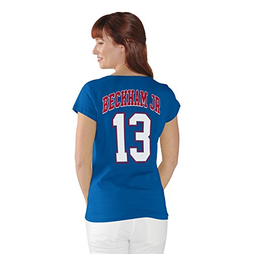 Odell Beckham Jr. New York Giants #13 NFL Women's Player T-Shirt (Small) (Girls New York Giants Shirt compare prices)
