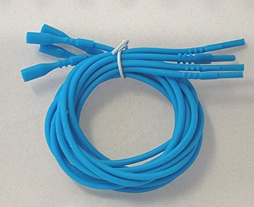 Turquoise Necklace Silicone Cord Funky Rubber Snap Add Pendant 16