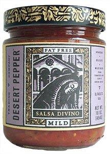 - Desert Pepper Trading Divino Mild Salsa, 16 Ounce - 6 per case.