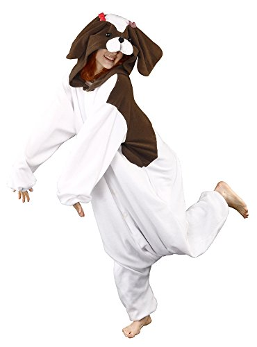BCozy Shih Tzu Dog Adult Unisex Onesie, One