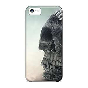 linJUN FENGDurable Protector Case Cover With Brain Skull Hot Design For iphone 4/4s