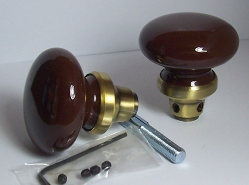 - The Finest BRONZE PORCELAIN CERAMIC & ANTIQUE BRASS Replacement Passage Knobs to upgrade Antique Knobs or Other Replicas. Guaranteed the Finest Quality at any price.