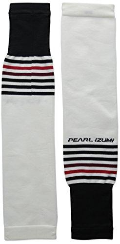 Pearl iZUMi - Ride Adult Select Thermal Lite Arm Warmer, White/Black, Small
