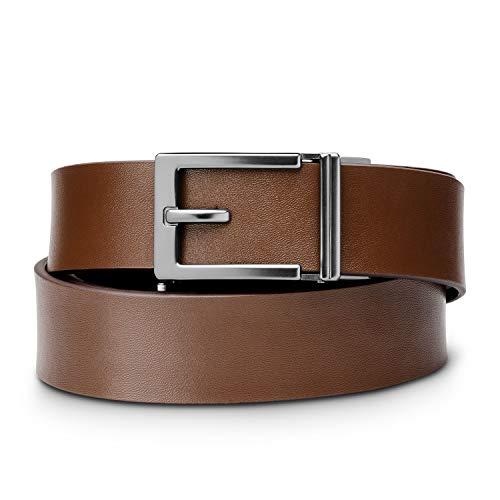 - KORE Men's Top-Grain Leather Track Belts  