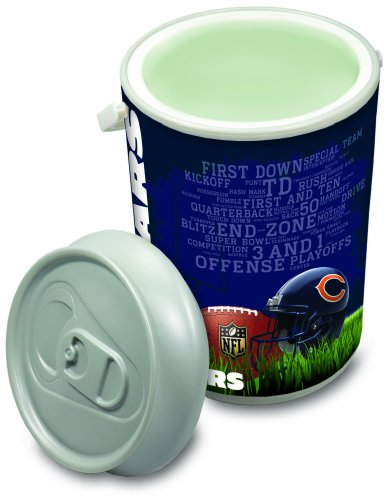 NFL Chicago Bears Insulated Mega Can Cooler, 5-Gallon ()