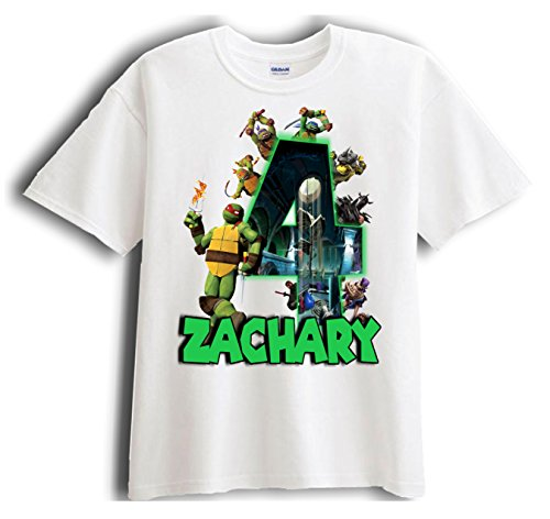 Teenage Mutant Ninja Turtle Raph Personalized - Birthday Shirt Party Favor