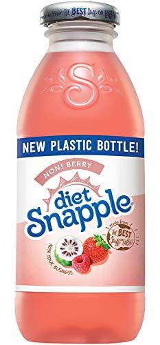 - Diet Snapple Noni Berry, 16 fl oz (24 Plastic Bottles)