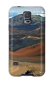 New Cute Funny Earth Landscape Case Cover/ Galaxy S5 Case Cover