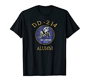 Navy Seabees Shirt DD 214 Alumni Vintage T Shirt from Navy Seabees Shirt Apparel