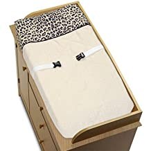 Sweet Jojo Designs Changing Pad Cover - Animal Safari Jungle Contemporary