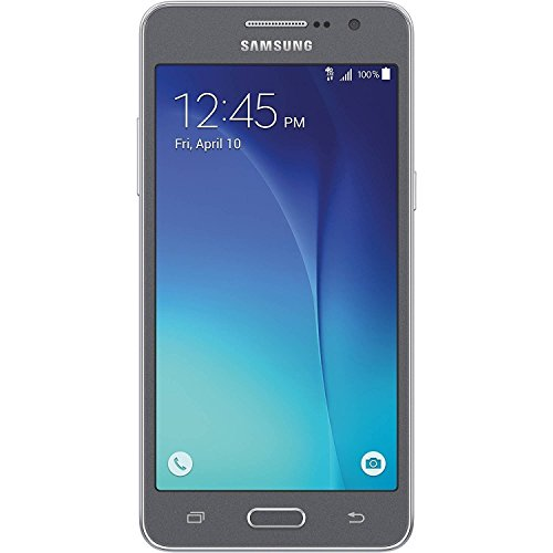 Samsung Galaxy Grand Prime G530T - T-Mobile GSM Quad-Core Android Phone w/ 8MP Camera - Gray - (Certified Refurbished)