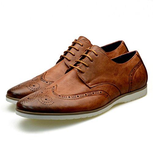 piel con cordón Robelli de hombre para 1 Zapatos Marrón wRnqfTIx