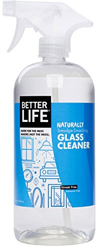 Better Life Natural Streak Free Glass Cleaner, 32 Ounces, 24427