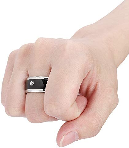 6in NFC Multi-Function Smart Rings Magic Wearable Device Universal for Mobile Phone Connecte to The Mobile Phone Function Operation and Sharing of Data 41l7AbUC 9L