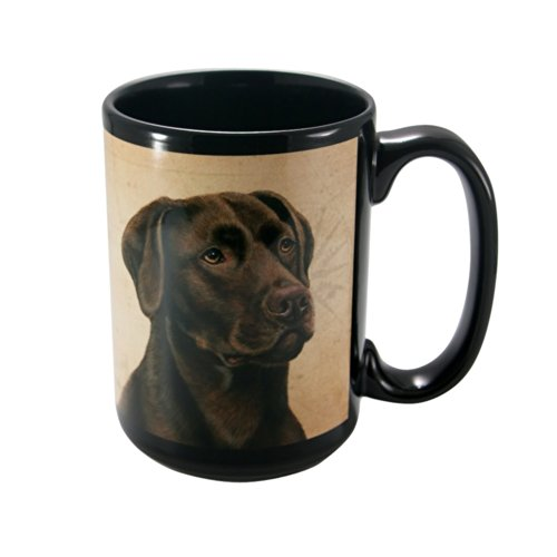 CHOCOLATE LAB Faithful Friend Coffee - Mug Chocolate Lab