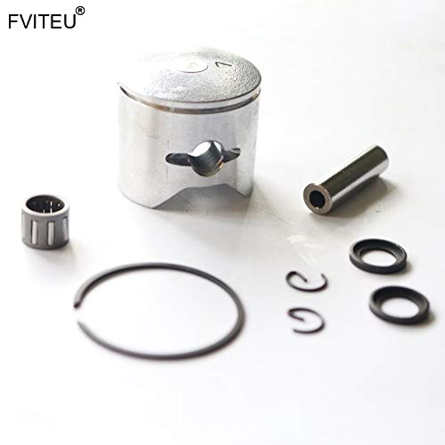 Hockus Accessories 34mm 26cc 27.5cc Piston Set Piston Ring Pin Washer Bearing for Gasoline zenoah Engine CY for 1/5 HPI 5B SS Rovan KM - CN