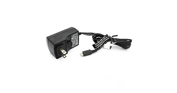Amazon.com: Cargador de CA de viaje de 1,1 Amp, cable de ...