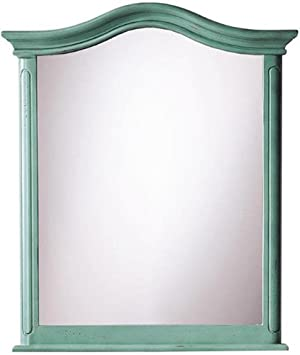 Home Decorators Collection Provence Bath Mirror, 32.8Hx28Wx2.3D, Blue