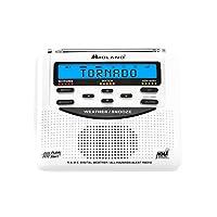 Midland - WR120B /WR120EZ - Radio de Alerta Meteorológica de NOAA - S.A.M.E. Programación localizada, pantalla trilingüe, más de 60 alertas de emergencia y reloj despertador (WR120B - Caja de embalaje)