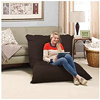 Wonderful Big Bean Bag Chair Pillow Lounger LARGE OVERSIZED Full Body Lounging Pillow  Is Generously Filled With