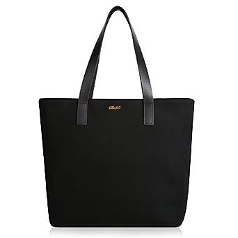 Amazon.com | Women Work Tote Bag Basic Spacious Light Weight Tote ...