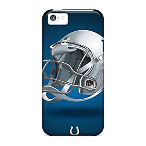 Protector Hard Phone Cover For Iphone 5c (QdC11565AIiU) Custom Attractive Indianapolis Colts Pattern