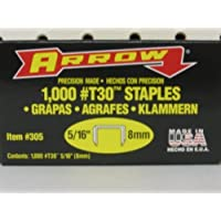 Arrow Fastener 305 5/16 T30 Staples by Arrow Fasteners