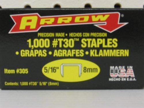 Arrow Fastener 305 5/16 T30 Staples